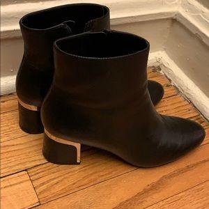 Used DKNY Black Boots